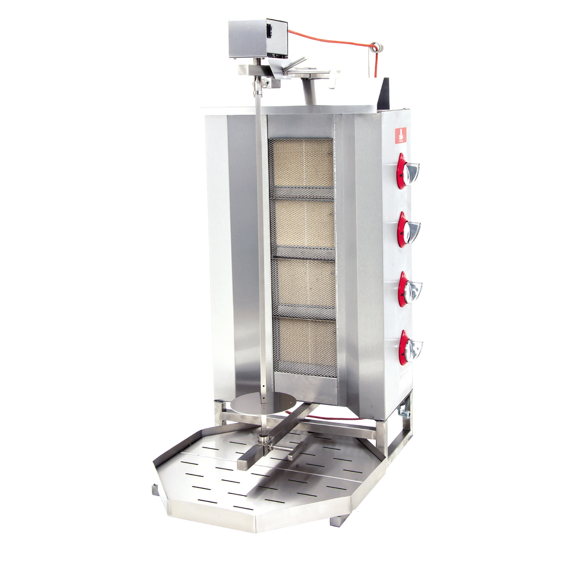 Doner Machine - Upper Motor 4 Burner -Gas