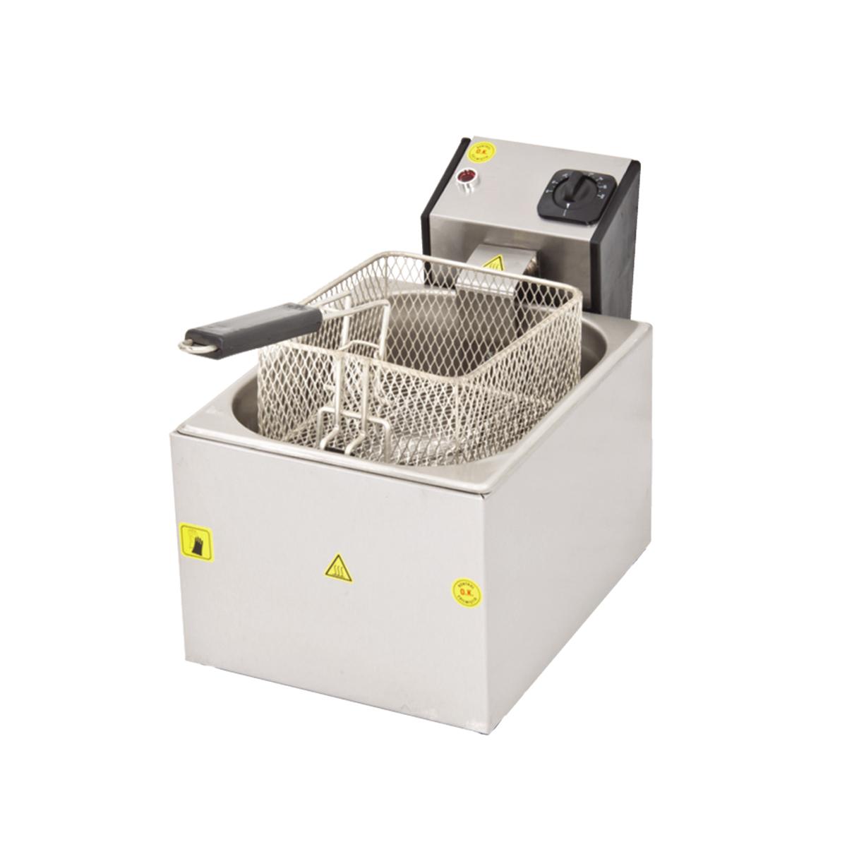 Fritöz Tekli - 5lt - Elektrikli