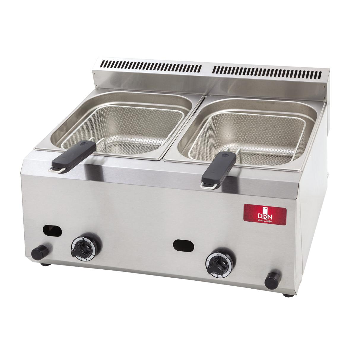 Fryer - Double - 8+8lt - Gas