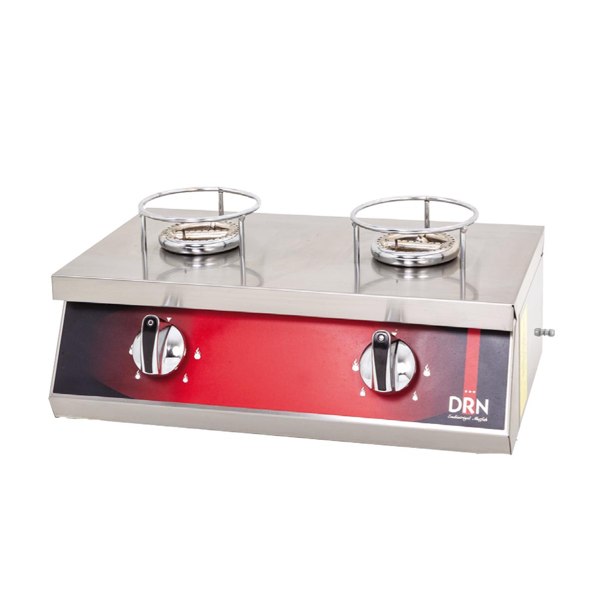 Kunefe Cooker - 2 Burners - Gas