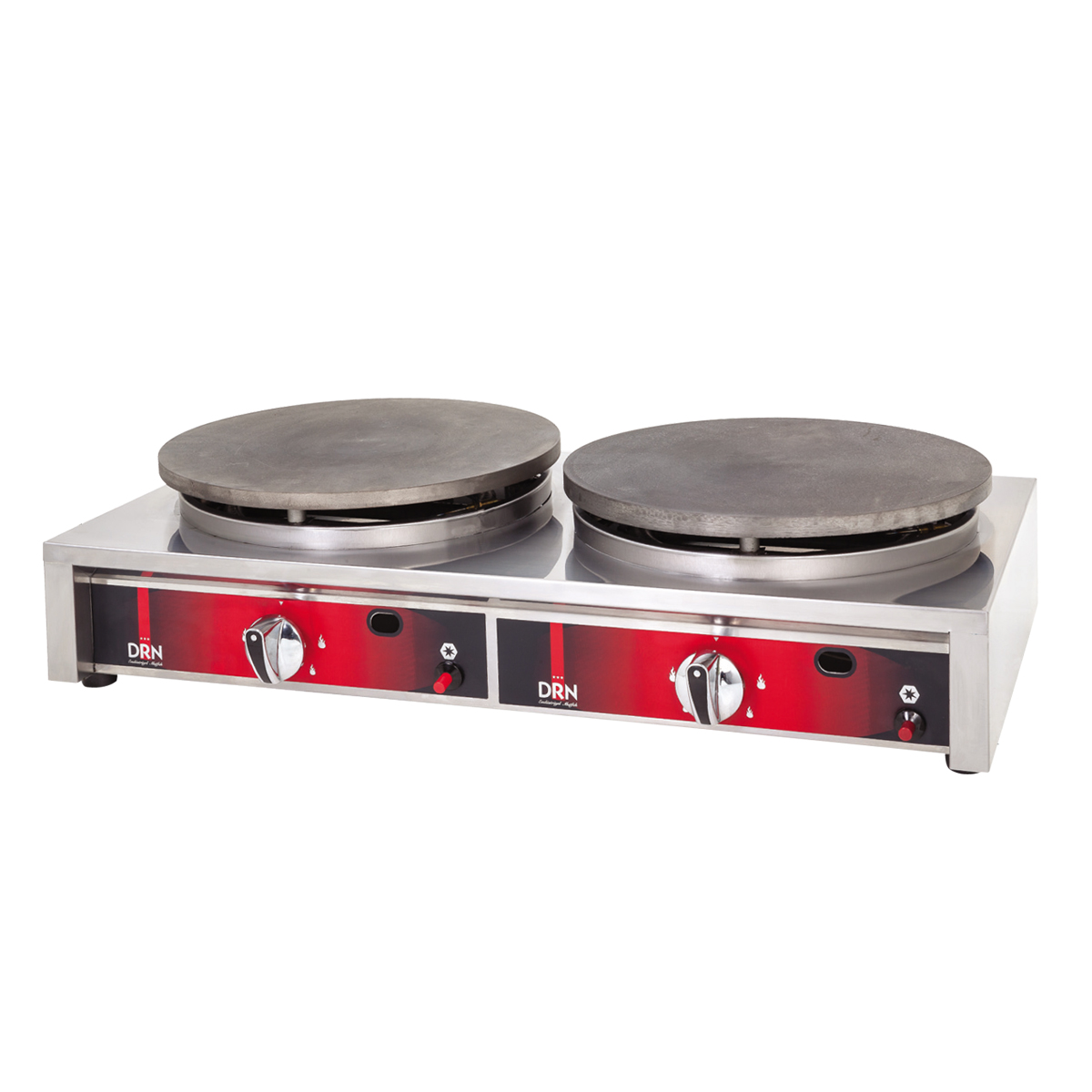 Crepe Maker - Square Case - Double - Electric