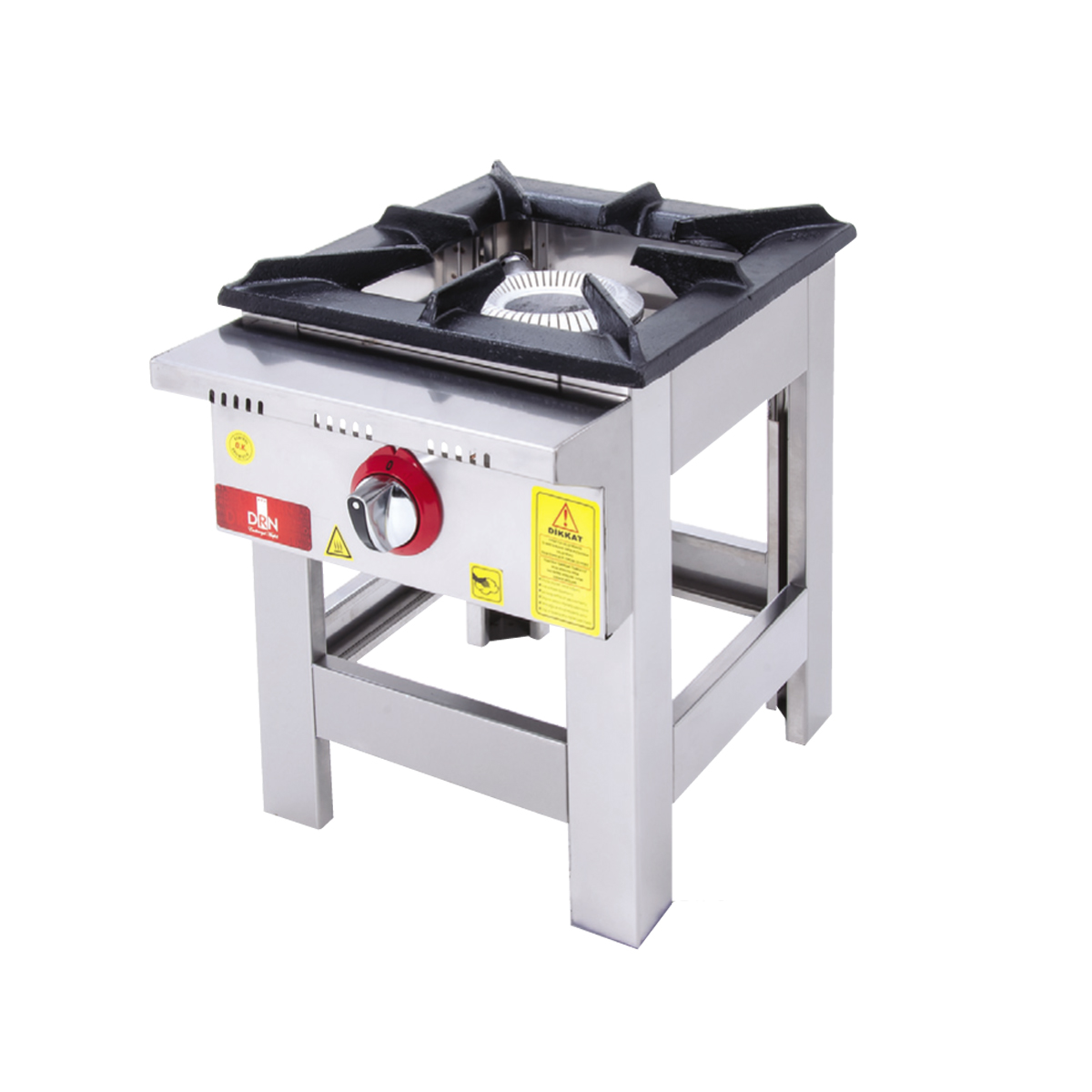Floor Cooker - Single Ignition - 40x40 - Gas