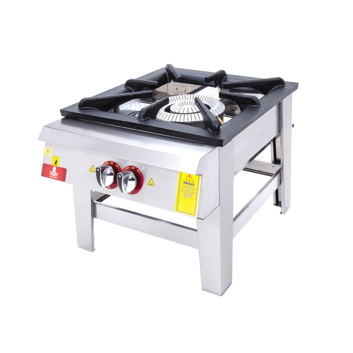 Floor Cooker - Double Ignition - 60x60 - Gas