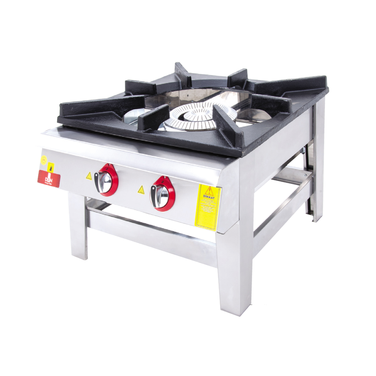Floor Cooker - Double Ignition - 70x70 - Gas