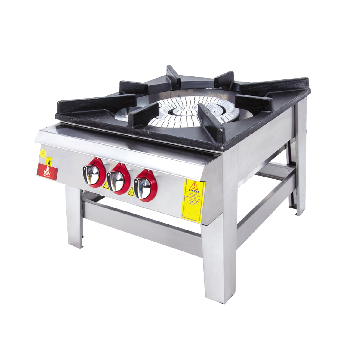Floor Cooker - Triple Ignition - 70x70 - Gas
