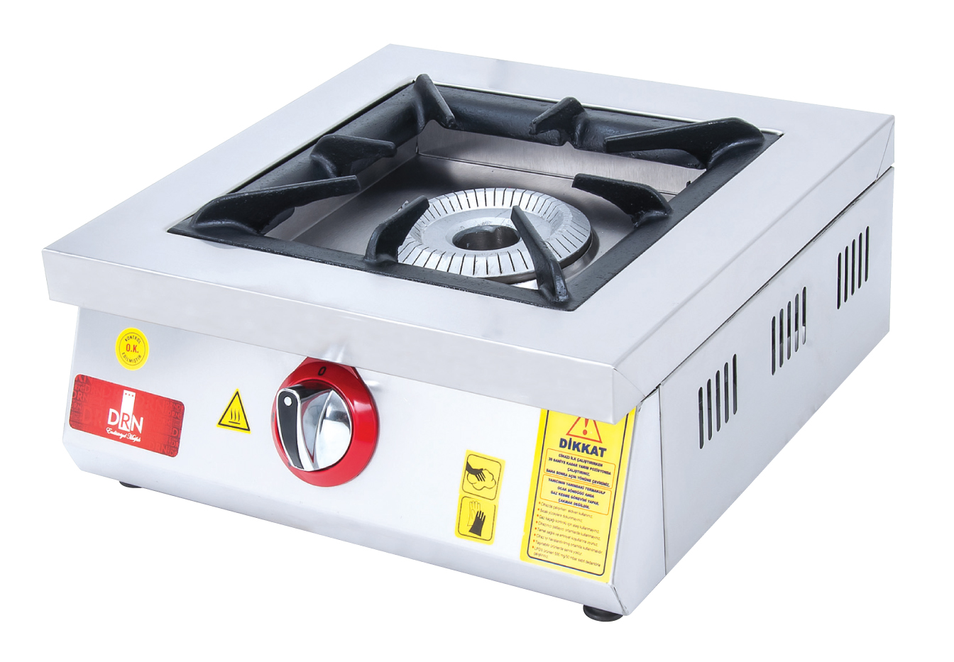 Cooktop - 1 Burner - 45x45 - Gas