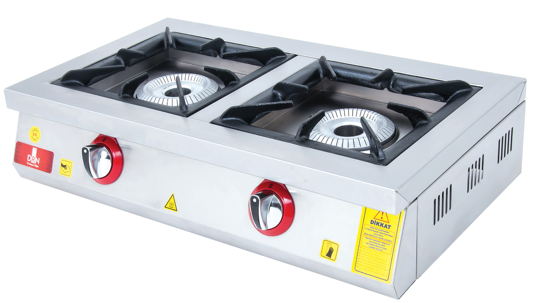 Cooktop - 2 Burners - 80x45 - Gas