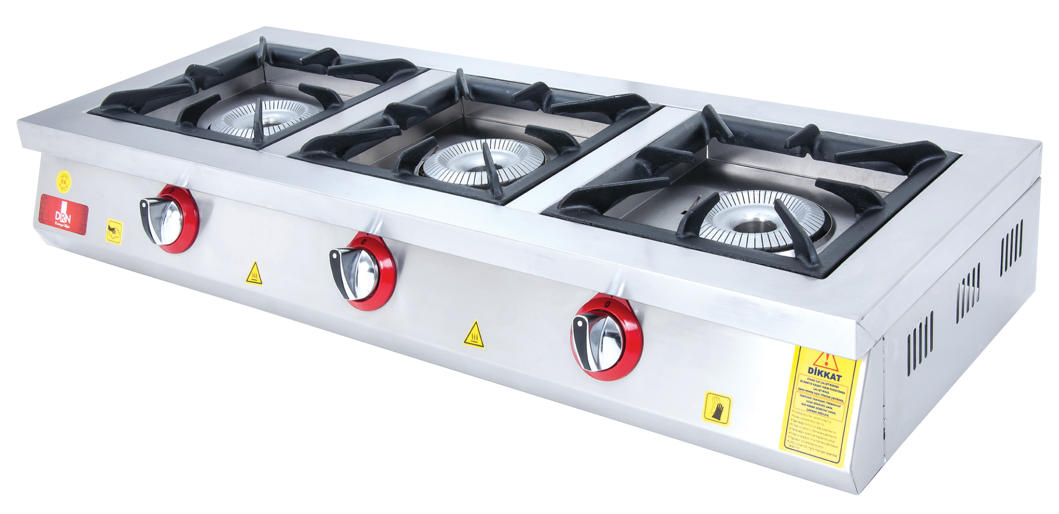 Cooktop - 3 Burners - 120x45 - Gas