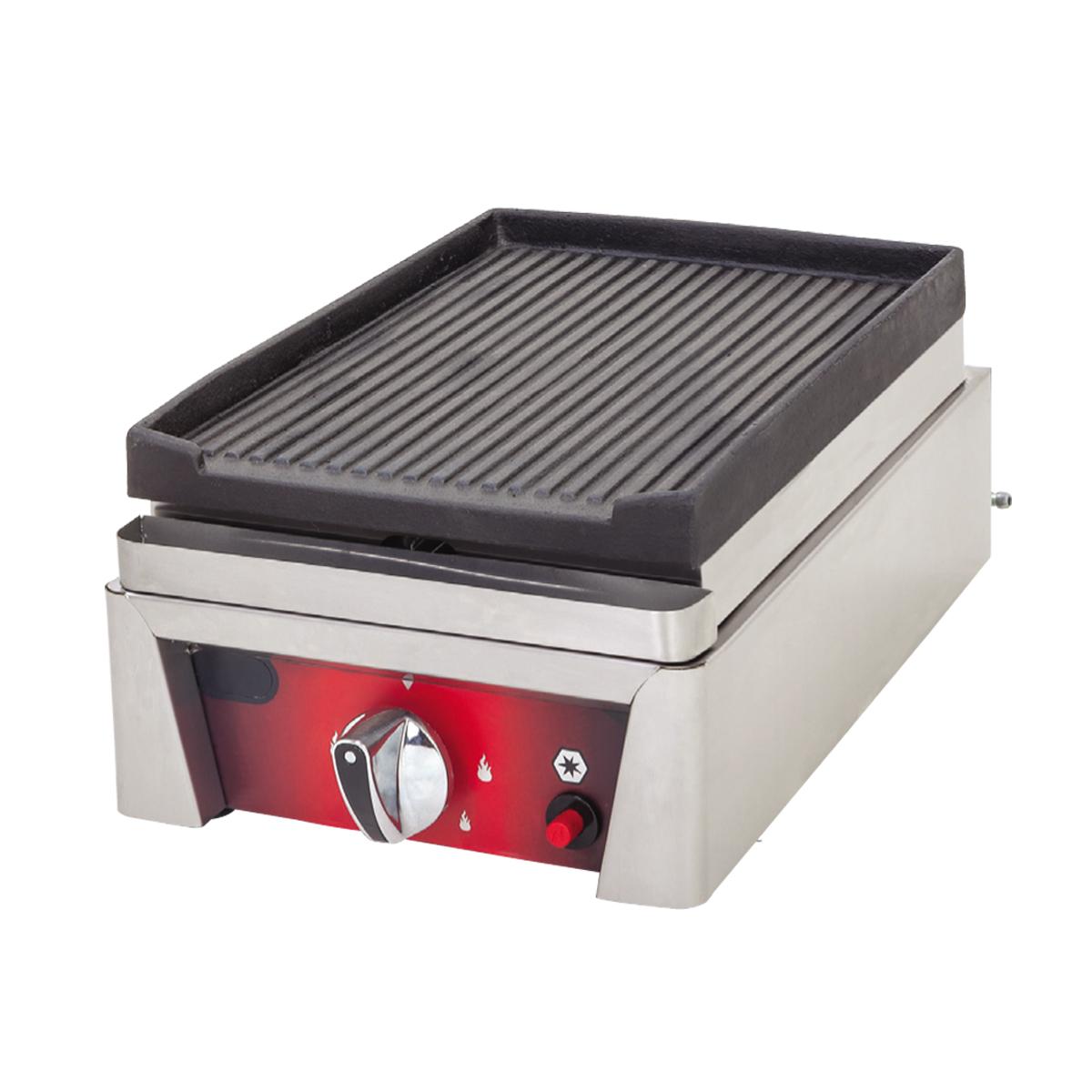 Cast Iron Grill Plus - 30cm - Gas