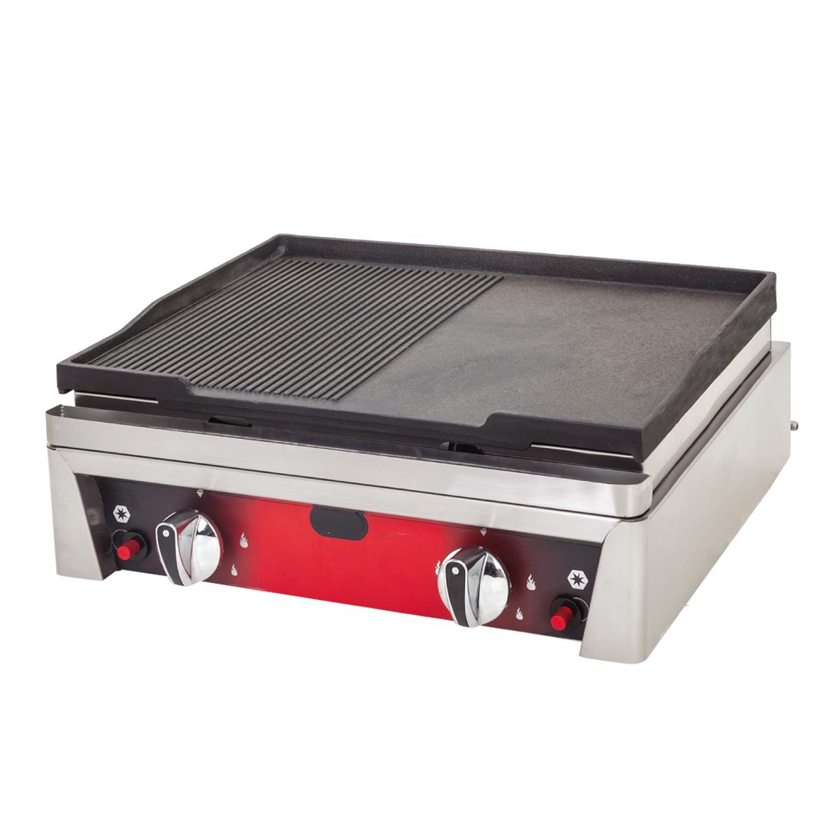 Cast Iron Grill Plus - 50cm - Gas