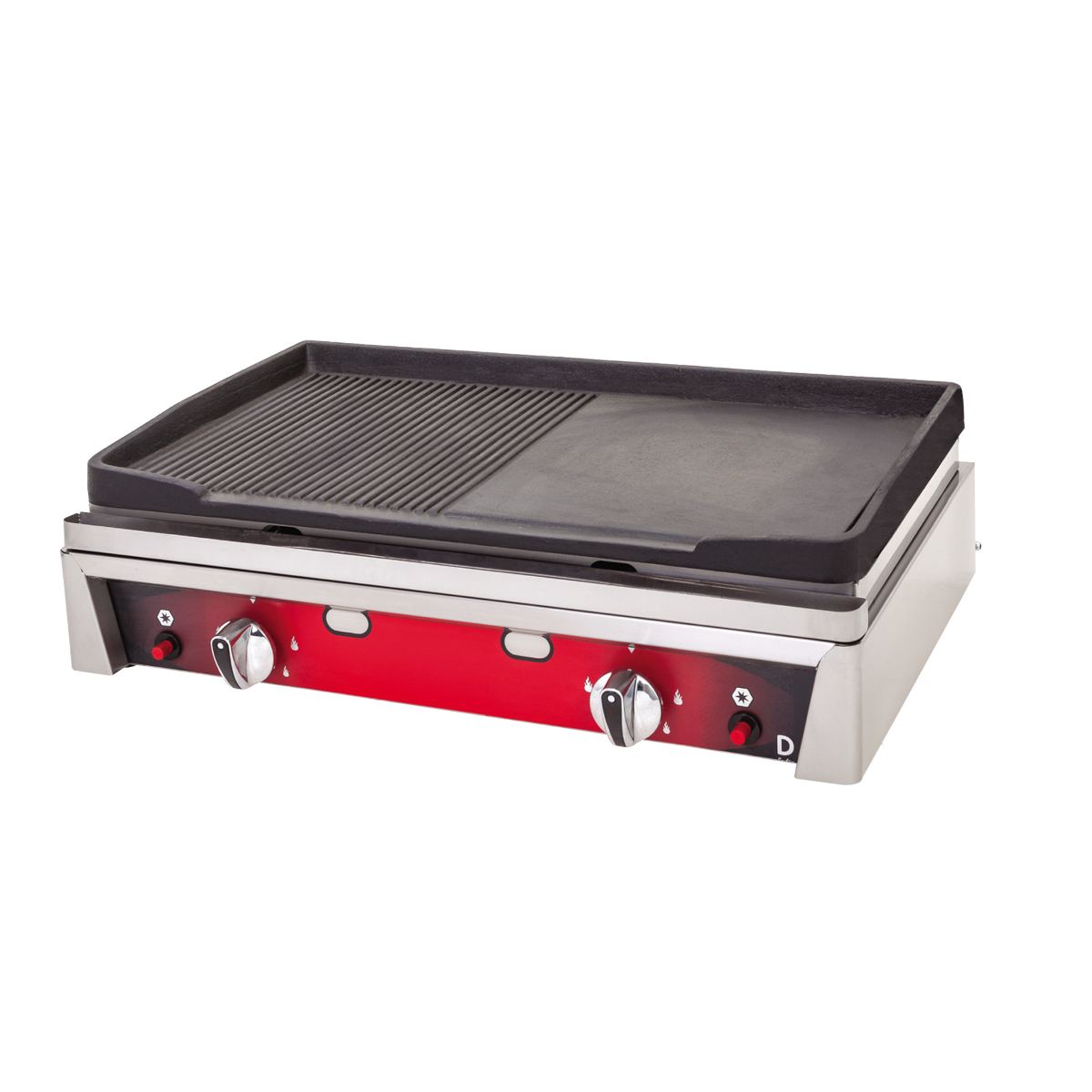 Cast Iron Grill Plus - 70cm - Gas